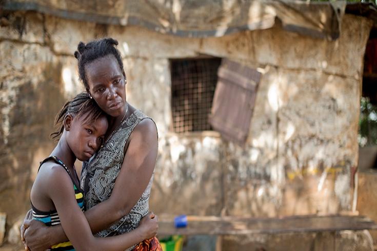 Sobrevivientes de la epidemia del ébola. © Banco Mundial