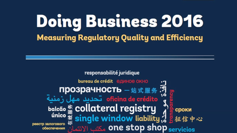 Doing Business 2016 – Latin America & the Caribbean