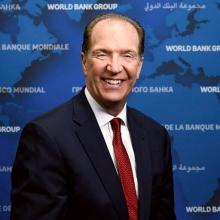 David Malpass, presidente del Grupo Banco Mundial. © Franz Mahr/Banco Mundial